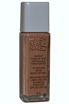 Nearly Naked Foundation SPF 20 by Revlon Natural Beige 30ml