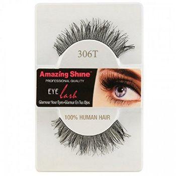 Amazing Shine Human Hair False Eyelashes - 306T