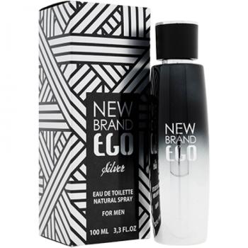 New Brand Ego Silver For Men 100ml