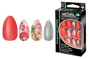 Royal Glue On Nail Tips - Serenade Stiletto
