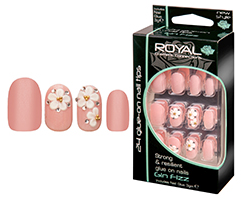 Royal Strong & Resilient Glue on Nails - Gin Fizz