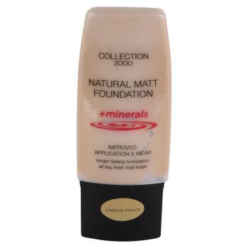 Collection 2000 Natural Matt Foundation + Minerals - 4 Natural Almond