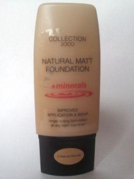 Collection 2000 Natural Matt Foundation + Minerals - 2 Natural Blonde