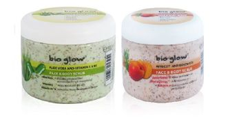 Bio Glow Face & Body Scrub (2 Pack)