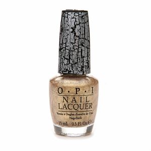 O.P.I Shatter Nail Lacquer 15ml Gold