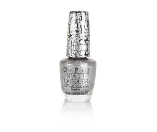O.P.I Shatter Nail Lacquer 15ml Silver