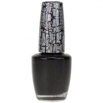 O.P.I Shatter Nail Lacquer - Shatter Black