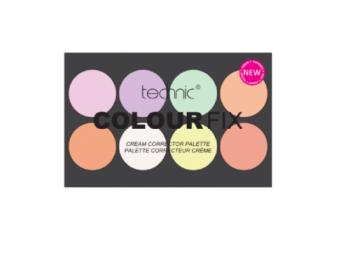 Technic Colour Fix Cream And Corrector Palette