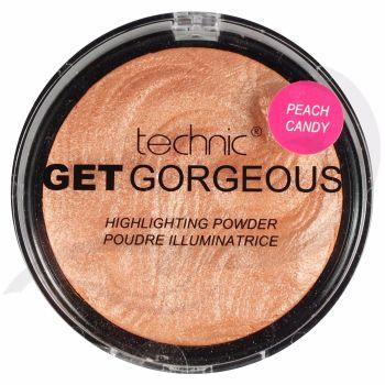 Technic Get Gorgeous Highlighting Powder - Peach Candy