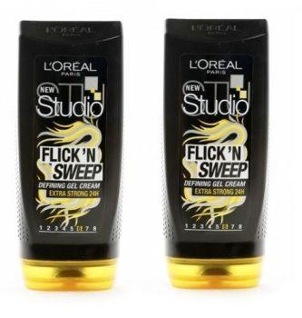 L'oreal Studio Flick n Sweep Defining Gel Cream - 2 Pack