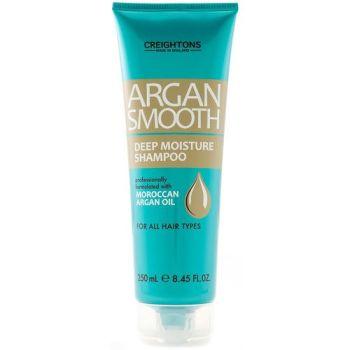Creightons Argan Smooth Deep Moisture Shampoo - 250ml