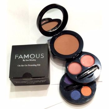 Famous By Sue Moxley On The Go Bronzing Kit - Shade 2