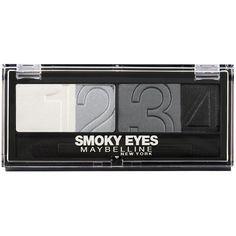 Maybelline Eyestudio Natural Impact Quad Eyeshadow - 19 Smoky Star