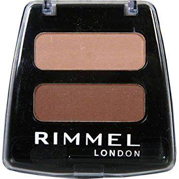 Rimmel Colour Rush Duo Eye Shadow - 324 Cream Caramel