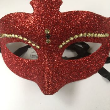 Red Bling Mask