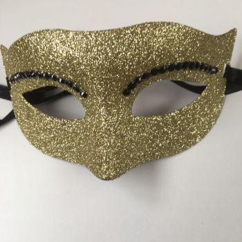 Gold Bling Mask