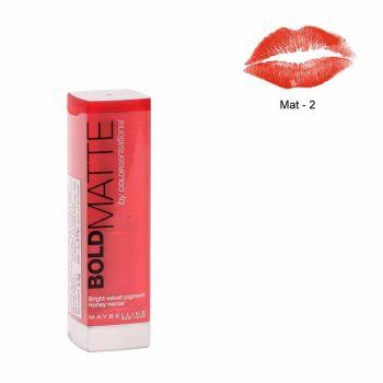 Maybelline Color Sensational Bold Matte Lipstick MAT2