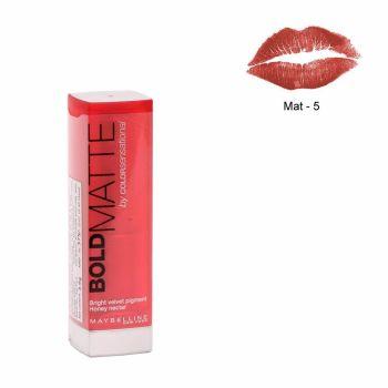 Maybelline Color Sensational Bold Matte Lipstick MAT5