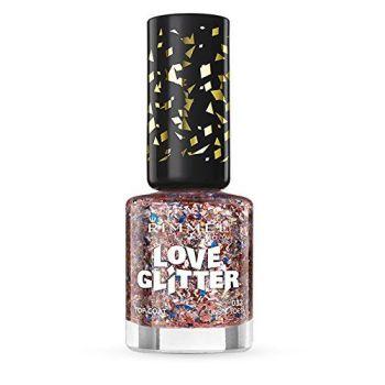 Rimmel London Love Glitter Nail Varnish - 033 Tinsel Toes