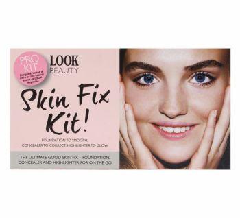 Look Beauty Skin Fix Kit! Foundation, Concealer & Highlighter - Dark