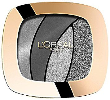 L'oreal Color Riche Quad Eye Shadow - Fascinating Silver