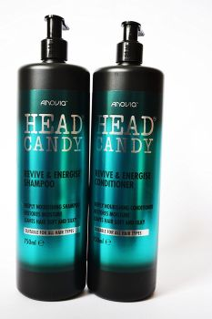 Anovia Head Candy Revive & Energise Shampoo & Conditioner - Twin Pack