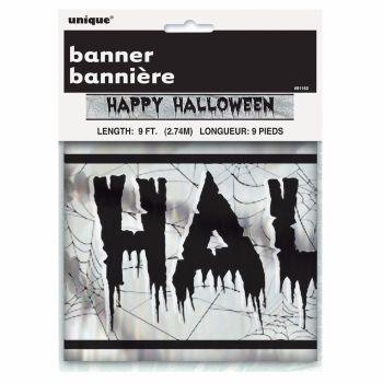 Unique Happy Halloween Banner 9FT