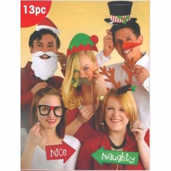 Christmas Party Photo Props