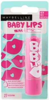 Maybelline Baby Lips Lip Balm - 27 Fresh Pink