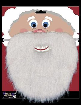 Santa Beard Father Christmas Fancy Dress Costume Outfit Party Accessory
