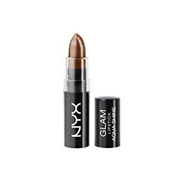 NYX Glam Lipstick Aqua Luxe - Jet Set
