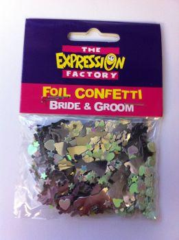 Bride & Groom Wedding Confetti