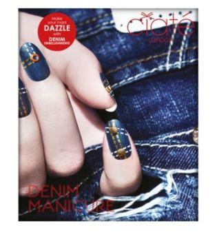Ciate London Denim Manicure Nail Art Manicure Set