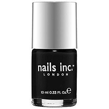 Nails Inc London Nail Polish - Black Taxi