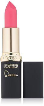 L'Oreal Paris Cosmetics Colour Riche Lip Collection Exclusive Lipstick, Doutzen's Pink, 0.13 Ounce by L'Oreal Paris