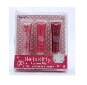 Hello Kitty Lipgloss Trio Girls Gift Set