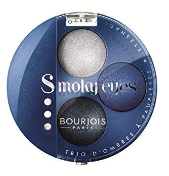 Bourjois Smoky Eyes Trio Eyeshadow - 15 Bleu Nuit