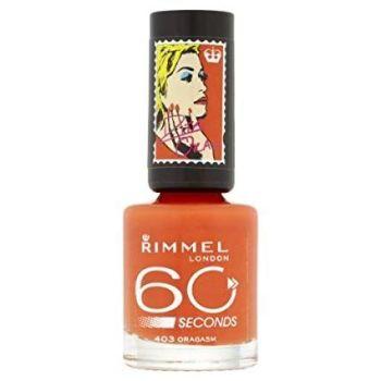 Rimmel London 60 Seconds Nail Polish by Rita Ora, Oragasm by Rimmel