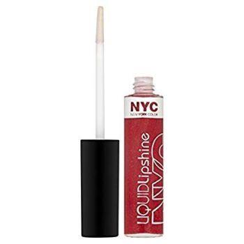 NYC Liquid Lip Shine, Rockefeller Red by NYC