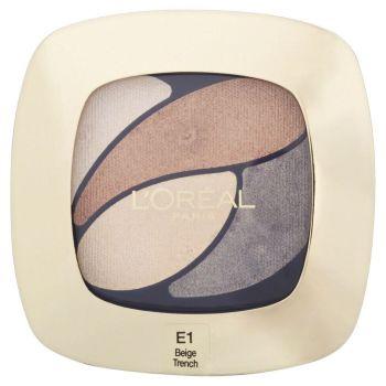 L'Oréal Paris Color Riche Eye Shadow Quad - E1 Beige Trench