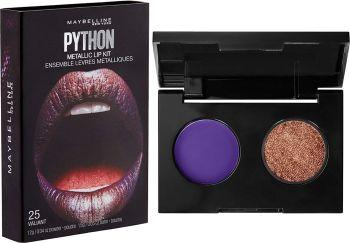 New Maybelline- Lip Studio Python Metallic Lip Makeup Kit, Valiant