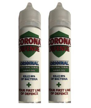 Corona Defence  Antibacterial Hand Gel - 60ml  (Pack of 2)