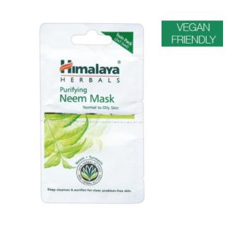 Himalaya Herbals Purifying Neem Mask Twin Pack Sachets