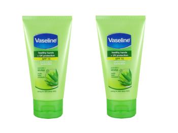 Vaseline Hand Cream Pure Aloe 75ml (Pack of 2)