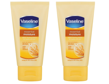 Vaseline Hand Cream Pure Oat Extract 75ml (Pack of 2)