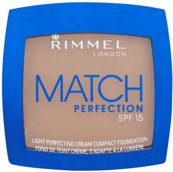 Rimmel Match Perfection Cream Compact Foundation, Soft Beige