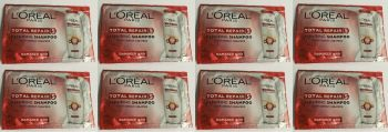 L'oreal Total Repair Shampoo Pack Of 8 10ml Each