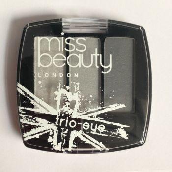 Miss Beauty Trio Eyeshadows - No.2 - Storm (2 pack)