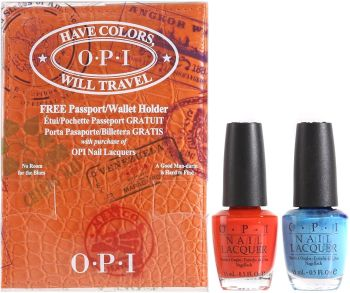 Have Colors Will Travel Collection by O.P.I Nail Laquer Gift Set
