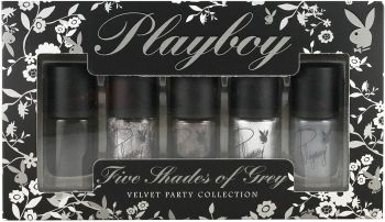 Playboy Five Shades Of Grey Velvet Party Collection